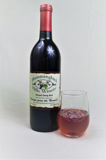 Hound Dawg Red Wine