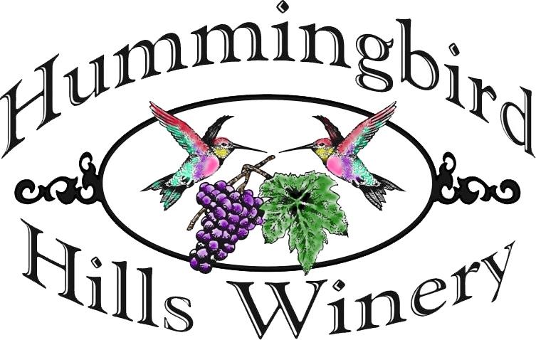 Logo for Hummingbird Hills Winery